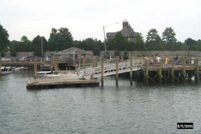 Branford Town Dock at Stonystony creek town