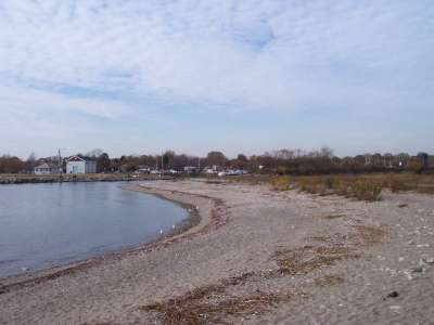 Beach at Saint Mary's By the Sea, Bridgeport