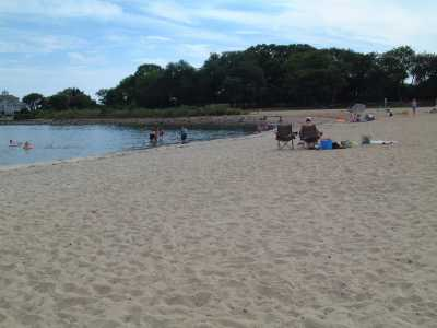 Esker Point Park beach, Groton