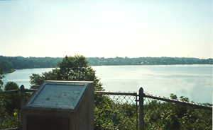 Scenic Overlook at Mystic River, Groton