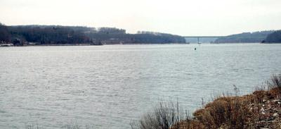 View from Stoddard Hill State Boat Launch, Ledyard