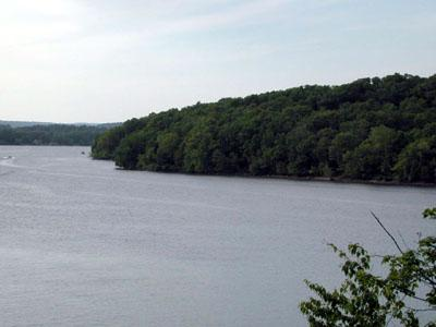 Scenic view at Selden Neck State Park, Lyme