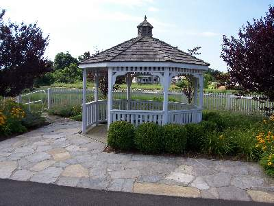 Gazebo at Canfield Crossing Subdivision