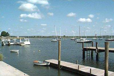 View of the Town Dock/Sheffield Street Dock, Old Saybrook