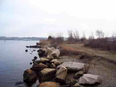 View from Pawcatuck River Wildlife Management Area, Stonington