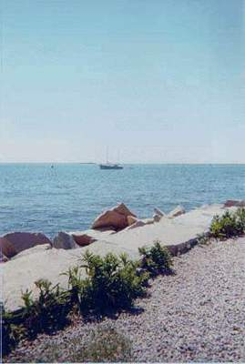 Scenic view at Stonington Point, Stonington
