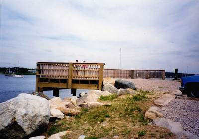 Town Dock Fishing Pier & Memorial, Stonington